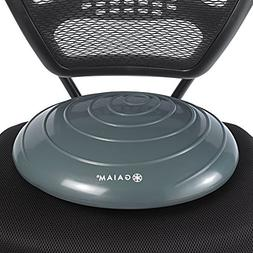Gaiam Balance Disc Wobble Cushion Stability Core Trainer for