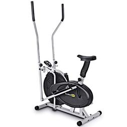 0bfebbbaec Goplus 2 in 1 Elliptical Fan Bike Cross Trainer Machine Exer
