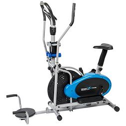 Body Xtreme Fitness 6-in-1 Elliptical Trainer Exercise Bike,