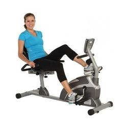 Exerpeutic 1000 Magnetic Hig Capacity Recumbent Exercise Bik