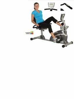 Exerpeutic 1000 High Capacity Magnetic Recumbent Bike W/ Pul