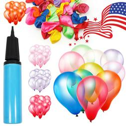"12"" Premium Latex Balloon 100pcs all Color Birthday Wedding"