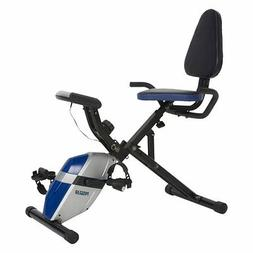 ProGear 190 Compact Space Saver Recumbent Bike with Heart Pu
