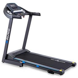 Goplus 2.25HP Electric Treadmill Foldable Running Jogging Fi