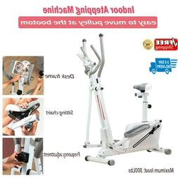 2 in 1 Elliptical Bike Cross Trainer Exercise Fitness Workou