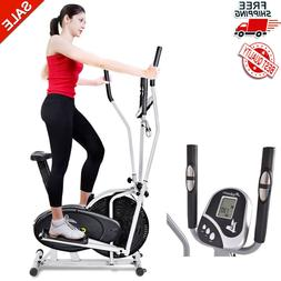 2 in 1 Elliptical Bike Cross Training Stationary Exercise Fi
