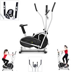 2 in 1 Elliptical Bike Cross Training Stationary Exercise Fi