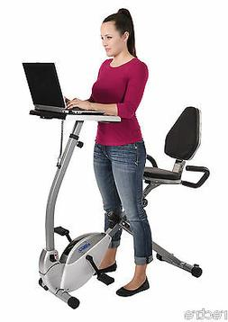 Stamina 2-in-1 RECUMBENT EXERCISE WORKSTATION Bike Stand-Up