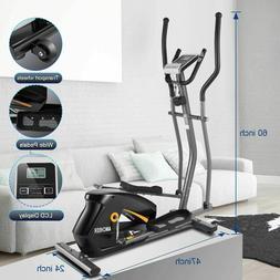 2021 Magnetic Elliptical Exercise Fitness Training Machine H