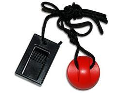Treadmillpartszone 208603 Treadmill Key with Clip Round Magn