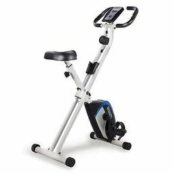 ProGear 225 Folding Magnetic Upright Exercise Bike with Hear
