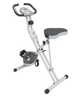 Exerpeutic 250XL Folding Magnetic Upright Bike with Pulse Mo