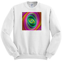 3dRose David Zydd - Colorful Abstract Designs - Elliptical M