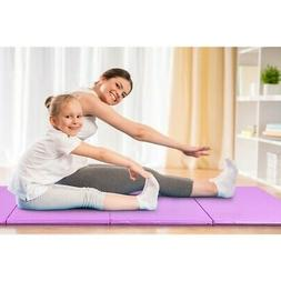"4' x 10' x 2"" Portable Gymnastic Fitness Exercise Mat SP3637"
