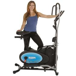 400LS 2 in 1 Air Elliptical and Exercise Bike with Heart Pul