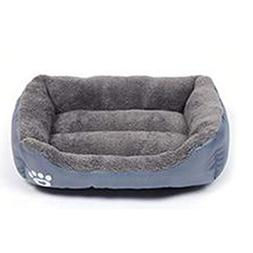 Krastal Pet Dog Bed Warming Dog House Soft Material Nest Dog