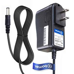 T POWER 6 Feet Long 9V Ac Dc adapter Charger Compatible with
