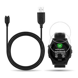X1 for Garmin Forerunner 935 Charger,Charging Clip Sync Data