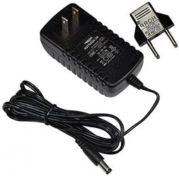 HQRP AC Adapter for NordicTrack AUDIOSTRIDER 800 Elliptical
