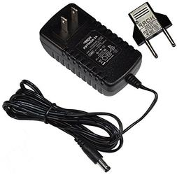 HQRP AC Adapter Compatible with Gold's Gym Stride Trainer 41