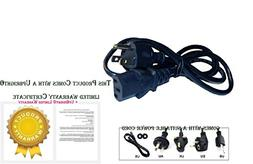UpBright New AC Power Cord Cable Plug For LiveStrong Residen