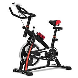 Goplus Adjustable Exercise Bike, Stationary bike, Indoor Cyc