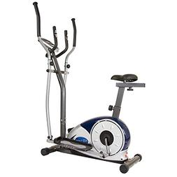 Body Champ 2 in 1 Cardio Dual Trainer/Elliptical Workout and