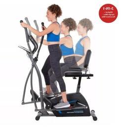 Body Power Deluxe 3-in-1 Trio Trainer BRT1875 Elliptical,Rec