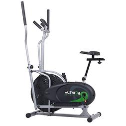 Body Rider 3-in-1 Trio Trainer - Elliptical/Recumbent Bike/U