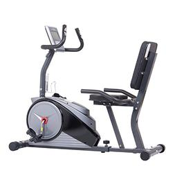 Body Champ Magnetic Recumbent Exercise Bike with Computer Pr