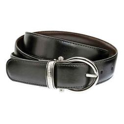 Montblanc Casual Oval Reversible Leather Belt 105123