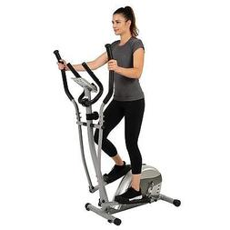 EFITMENT Compact Magnetic Elliptical Machine Trainer with LC