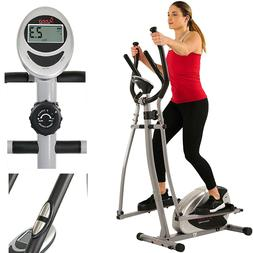 Cross Trainer with 8 Level Resistance & Digital Monitor Puls