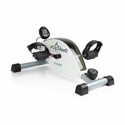 DeskCycle Desk Exercise Bike Pedal Exerciser, White
