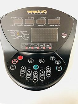 Octane Fitness Display Panel Deluxe Console Black 100807-001
