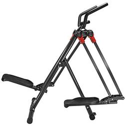 XtremepowerUS Dual Action Air Walker Elliptical Glider Fitne