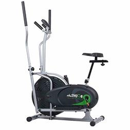 Dual Trainer 2 in 1 Cardio Elliptical Trainer and Exercise B