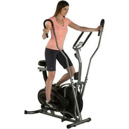 Fitness Reality E3000 2-In-1 Air Elliptical/Exercise Bike wi