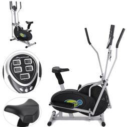 Elliptical Bike 2 IN 1 Cross Trainer Exercise Fitness Machin