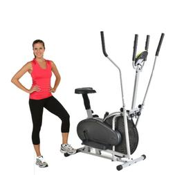 elliptical bike 2 in 1 cardio fitness