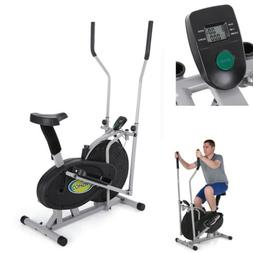 Elliptical Bike 2 in 1 Cardio Fitness Machine Workout Exerci