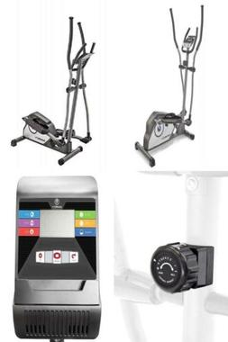 Marcy Magnetic Elliptical Trainer Cardio Workout Machine wit