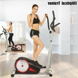 Elliptical Exercise Fitness Trainer Workout Machine Home Gym