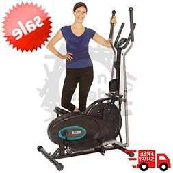 Elliptical Exercise Indoor Fitness Trainer Workout Machine C