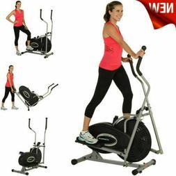 Air Elliptical Machine Exercise Bike Dual Trainer Fitness Wo