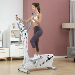elliptical machine adjustable magnetic resistance cardio fit