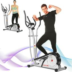 ANCHEER Elliptical Exercise Machine Magnetic Fitness Trainer