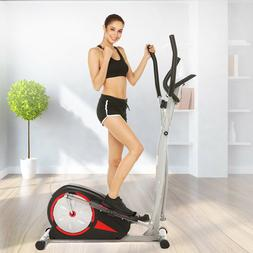 Ancheer Elliptical Exercise Workout Machine pedal Trainer Bi