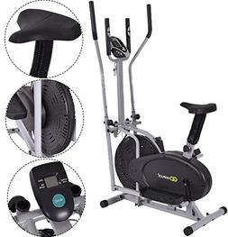 K&A Company Elliptical Fan Bike Dual Cross Trainer Machine E