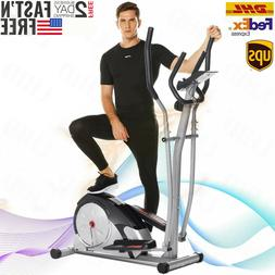 Elliptical Machine Cardio Fitness Equipment Adjustable Magne